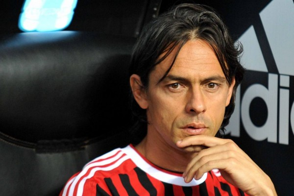 l43 filippo inzaghi 110902143115 big 600x400 AC Milan Sacks Clarence Seedorf To Hire Filippo Inzaghi As New Manager