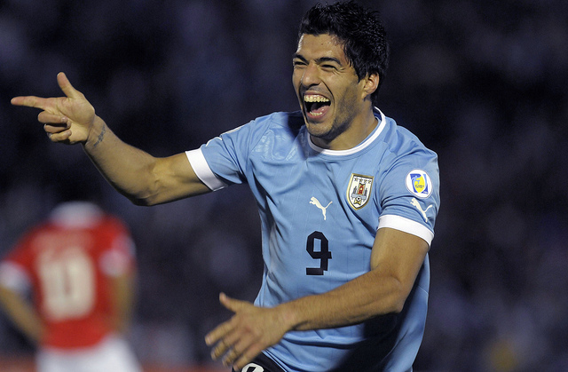 luis suarez Top 5 Uruguay Players To Watch in the World Cup