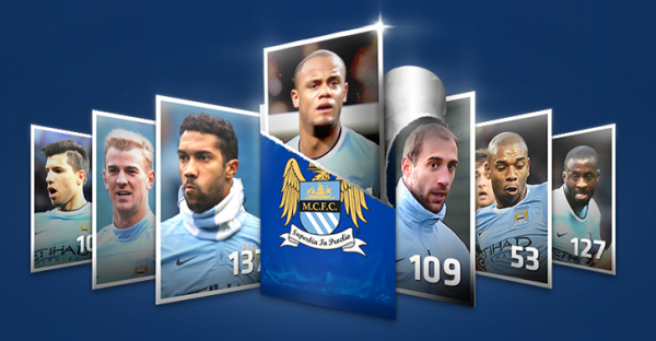 manchester city stickers 600x312 Manchester City Sign Bacary Sagna and Fernando, Say Reports