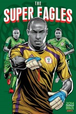 nigeria world cup poster espn 150x224 View World Cup Posters For All 32 Teams At Brazil 2014 From ESPN