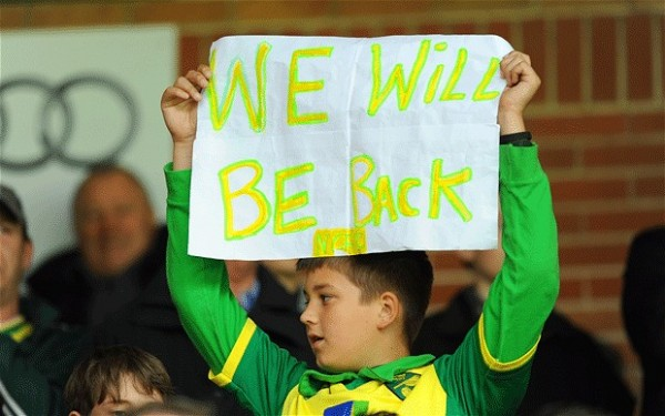 norwich fan 2909127b 600x375 What The Future Holds For Relegated Fulham, Cardiff and Norwich