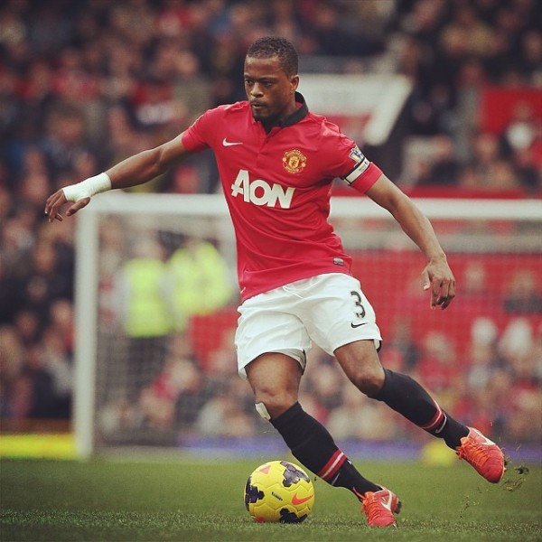 patrice evra 600x600 Patrice Evra Likely Heading to Juventus After Requesting Manchester United Departure