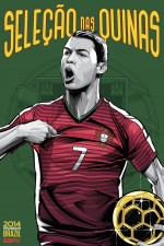 portugal world cup poster espn 150x225 View World Cup Posters For All 32 Teams At Brazil 2014 From ESPN