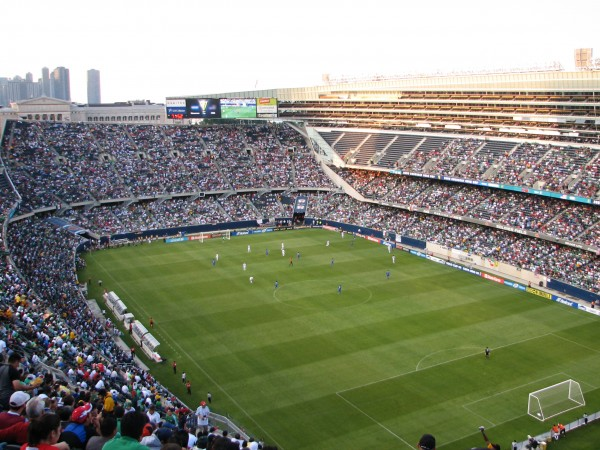 soldier field 600x450 Tickets Are Available for Liverpool vs Olympiacos Game In Chicago