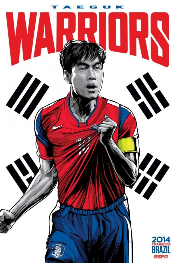south korea world cup poster espn 600x900 Expectations Among South Korea Fans Are At a Low Going Into Game Against Russia