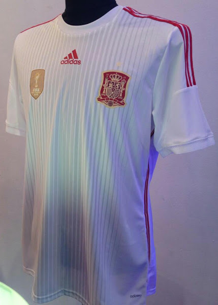 d55b980638f ... World Cup 2014 7 Comments. Spain will be taking a third kit to ...