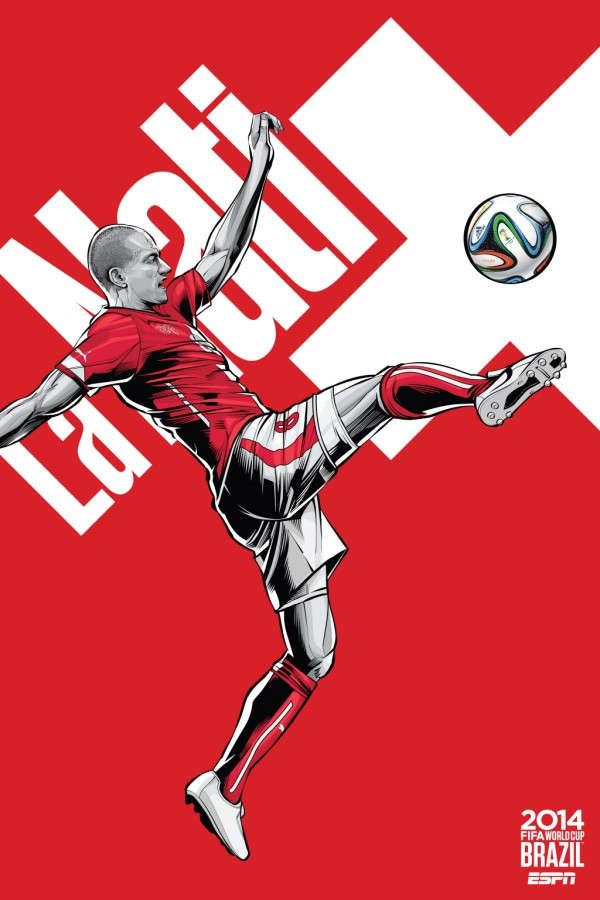switzerland world cup poster espn 600x900 Honduras 0 3 Switzerland: Match Highlights (VIDEO)   Swiss Grab Second Spot in Group E