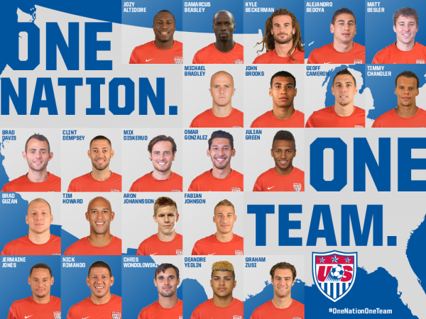 usmnt 23 man squad world cup 600x450 USMNT Names 23 Man Squad For World Cup 2014: Landon Donovan Dropped From Squad