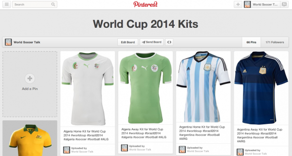 476ac6433 Browse Through All of the World Cup 2014 Kits  The Good