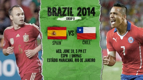 11 600x338 Spain vs Chile: Starting Lineups And World Cup Open Thread
