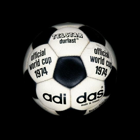 12 1974 World Cup Telstar Durlast View a Gallery of Soccer Balls Used by FIFA Since the First World Cup in 1930