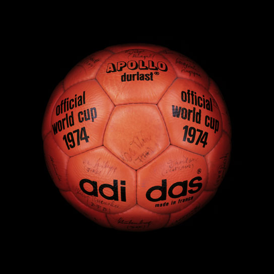 13 1974 World Cup Apollo Durlast View a Gallery of Soccer Balls Used by FIFA Since the First World Cup in 1930