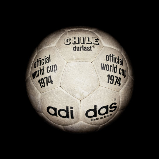 14 1974 World Cup Chile Durlast View a Gallery of Soccer Balls Used by FIFA Since the First World Cup in 1930