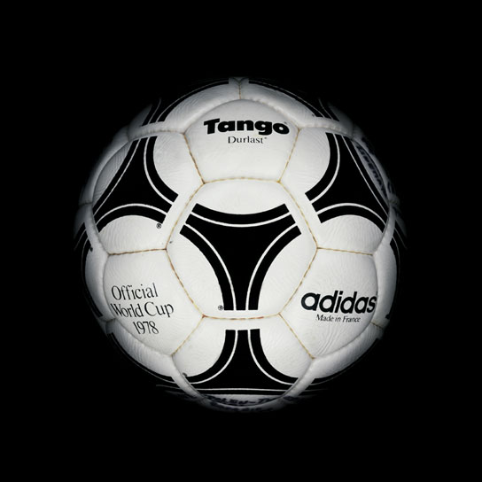15 1978 World Cup Tango Durlast View a Gallery of Soccer Balls Used by FIFA Since the First World Cup in 1930