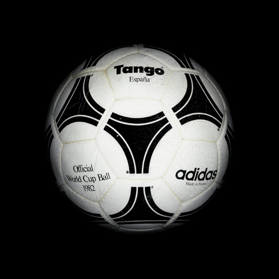 16 1982 World Cup Tango Espana View a Gallery of Soccer Balls Used by FIFA Since the First World Cup in 1930