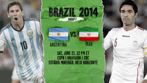 Argentina vs Iran: Starting Lineups And World Cup Open Thread