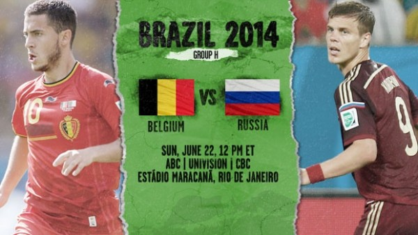 17 600x338 Belgium vs Russia: Starting Lineups And World Cup Open Thread