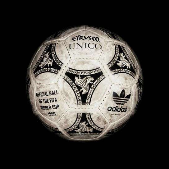 18 1990 World Cup Etrusco Unico View a Gallery of Soccer Balls Used by FIFA Since the First World Cup in 1930