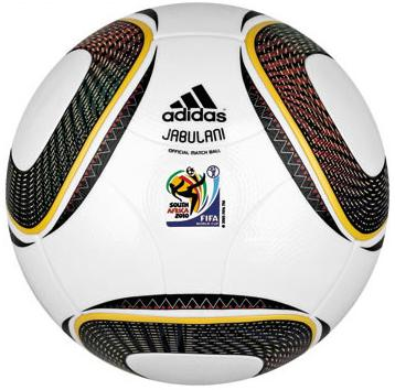 28 2010 World Cup Jabulani View a Gallery of Soccer Balls Used by FIFA Since the First World Cup in 1930
