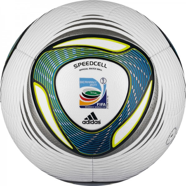 29 2011 Woman World Cup Speedcell 600x600 View a Gallery of Soccer Balls Used by FIFA Since the First World Cup in 1930