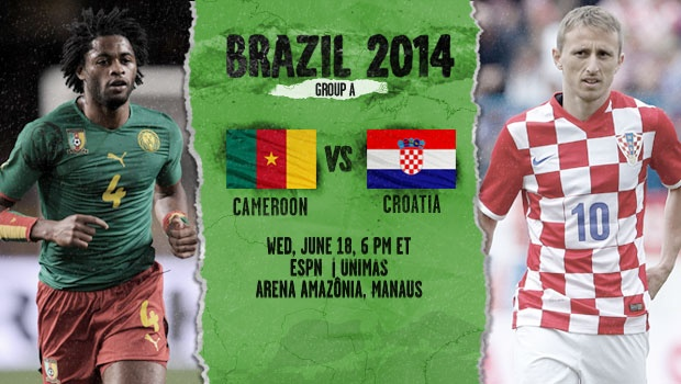 Cameroon Croatia Croatia vs Cameroon, Starting Lineups and World Cup Open Thread