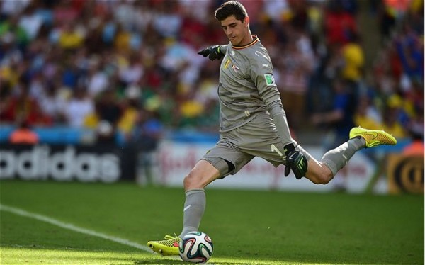 Courtois 600x374 What the USA Can Expect From Belgium in Tuesdays World Cup Game