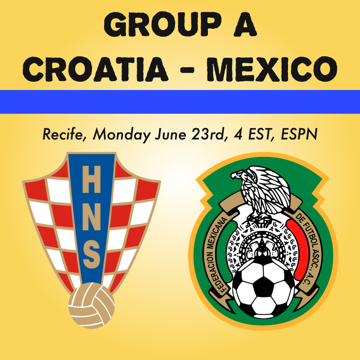 Croatia v Mexico
