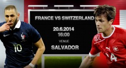 France vs Switzerland