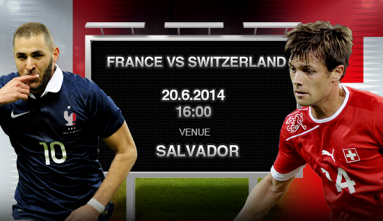 France vs Switzerland Predicted Lineups for France vs Switzerland World Cup Game