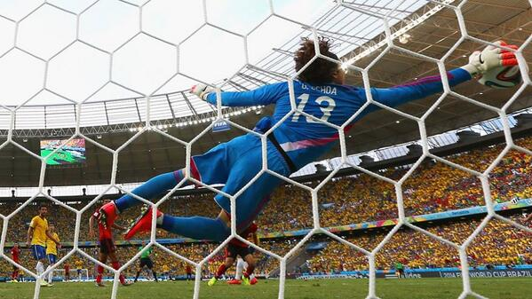 Guillermo Ochoa WATCH Guillermo Ochoas Incredible Saves In 0 0 Draw Against Brazil; Match Highlights [VIDEO]