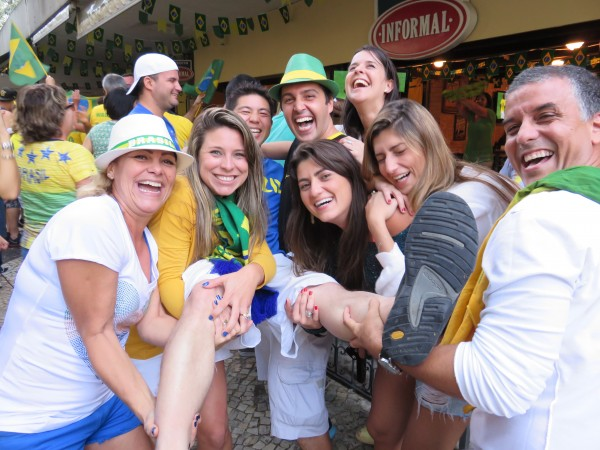 IMG 0030 600x450 Travels In Brazil: How I Became Brazils Good Luck Charm Against Chile in the World Cup