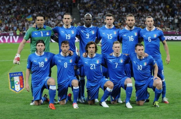 Italy national football team Euro 2012 vs England 600x397 Why Italy Shouldn't Panic After Costa Rica Loss