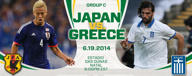 Japan vs Greece, Starting Lineups and World Cup Open Thread