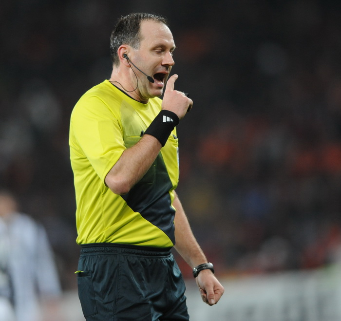 Swedish Referee Jonas Eriksson to Referee Ghana-United States