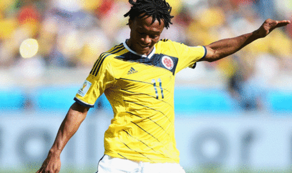 Barcelona Interested In Signing Colombia Winger Juan Cuadrado, Says Report