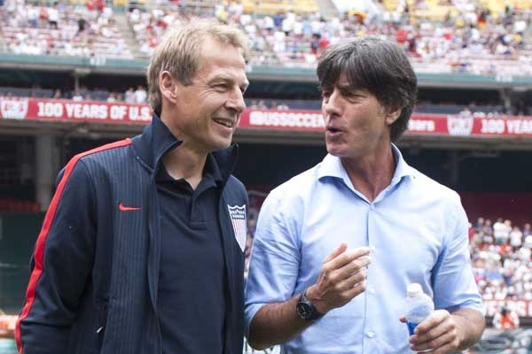 Jurgen Klinsmann Joachim Low USA v. Germany 5 Match Ups to Watch