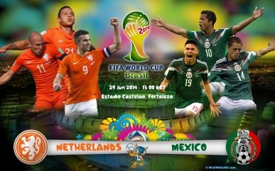 Netherlands and Mexico Line-Up Prediction for Round of 16 Match