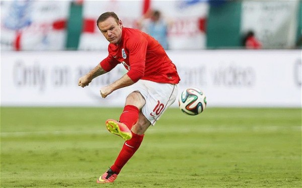Rooney 600x374 Why Dropping Wayne Rooney Would Be Englands Best Chance Of Beating Italy