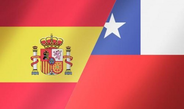 SpainChileflag 600x355 Spain vs Chile Preview and Predicted Lineups for World Cup Clash