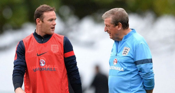 WayneRooneyandRoyHodgson 2983820 600x318 Wayne Rooney Must Deliver Against Uruguay And Reward Roy Hodgson's Trust