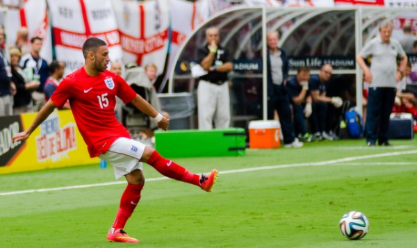 alex oxlade chamberlain world cup 600x357 England Prepare for World Cup With Warmup Matches in Miami [PHOTOS]