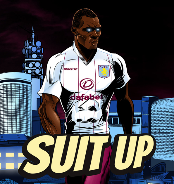 aston villa away shirt Aston Villa Unveil Away Shirt For 2014/15 Season: Official [PHOTOS]