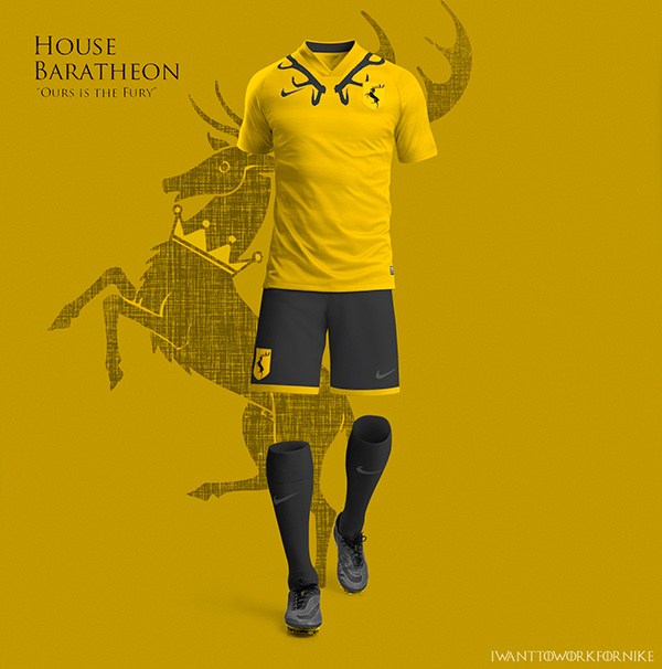 baratheon 9 Kit Designs for Game of Thrones Houses