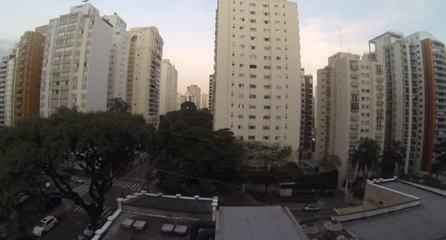 brazil soccer timelapse video WATCH: São Paulo Neighborhood Erupt in Deafening Cheers After Brazil Scores [VIDEO]