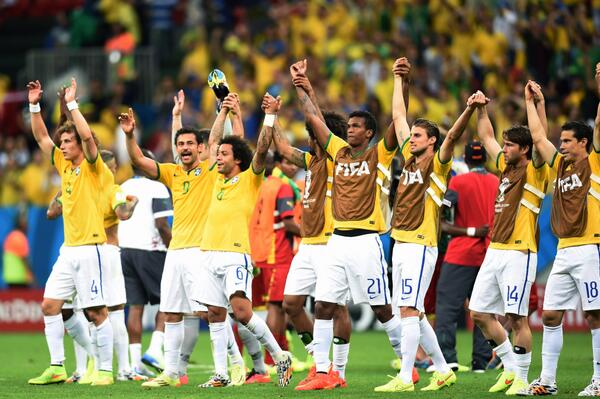 brazil Brazil 4 1 Cameroon Match Highlights [VIDEO]; Host Nation Finish Top of Group A