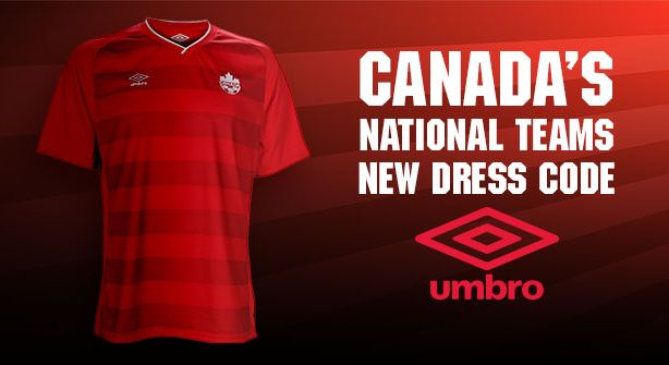 canada home shirt promo Review of Canadas 2014 Home Kit From Umbro