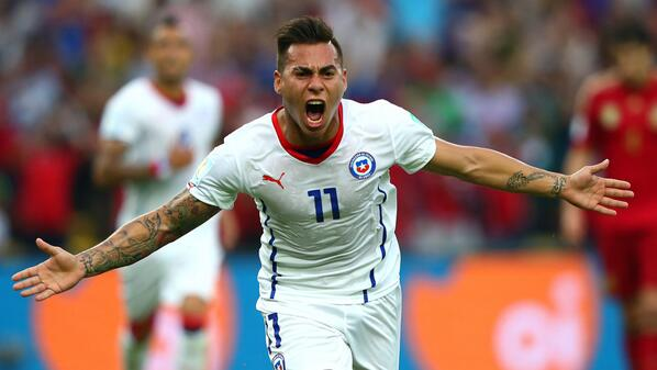 chile WATCH Chile 2 0 Spain Match Highlights: Chile Knock World Champions Out Of World Cup [VIDEO]