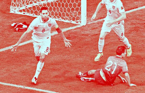 clint dempsey4 5 Observations From USA vs Portugal World Cup Game