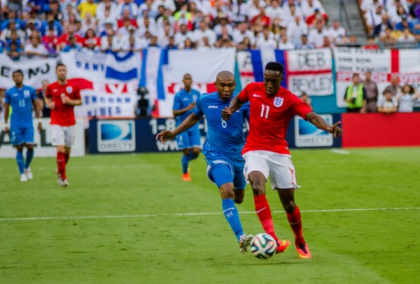 danny welbeck 600x405 Photos From England vs Honduras Friendly In Miami: World Cup Warmup Match