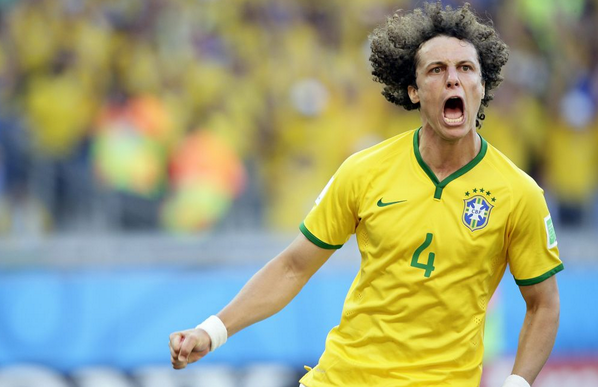 david luiz1 5 Observation From Brazil Chile World Cup Game